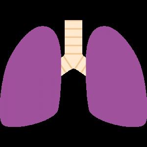 不健康な肺