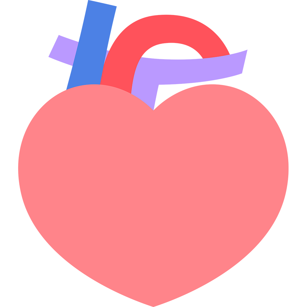 心臓のイラスト【無料・フリー】