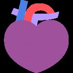 不健康な心臓のイラスト【無料・フリー】