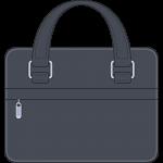 ビジネスバッグ(鞄)のイラスト【無料・フリー】