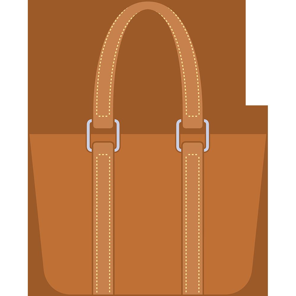 トートバッグ(鞄)のイラスト【無料・フリー】