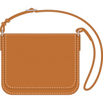 ショルダーバッグ(鞄)のイラスト【無料・フリー】