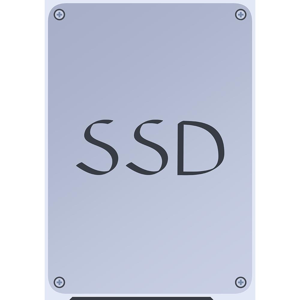 SSDの無料イラスト