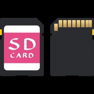 SDカードのイラスト【無料・フリー】