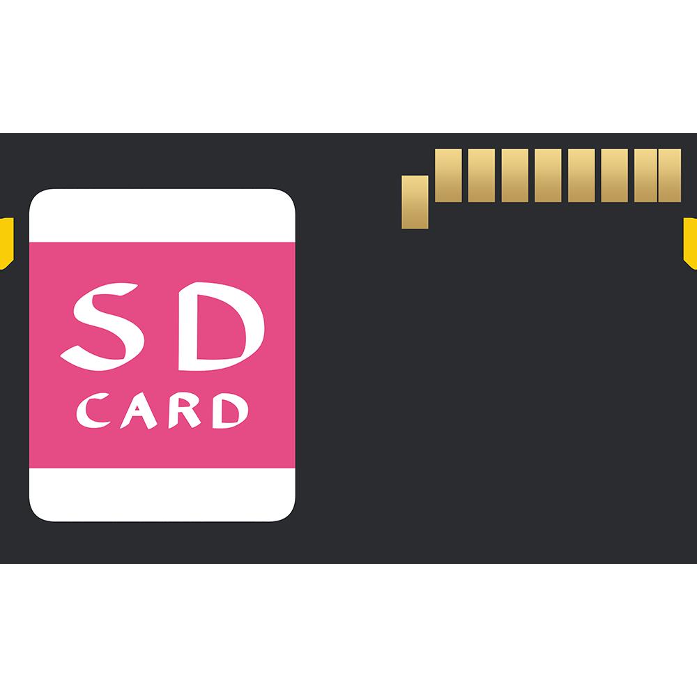 SDカードの無料イラスト