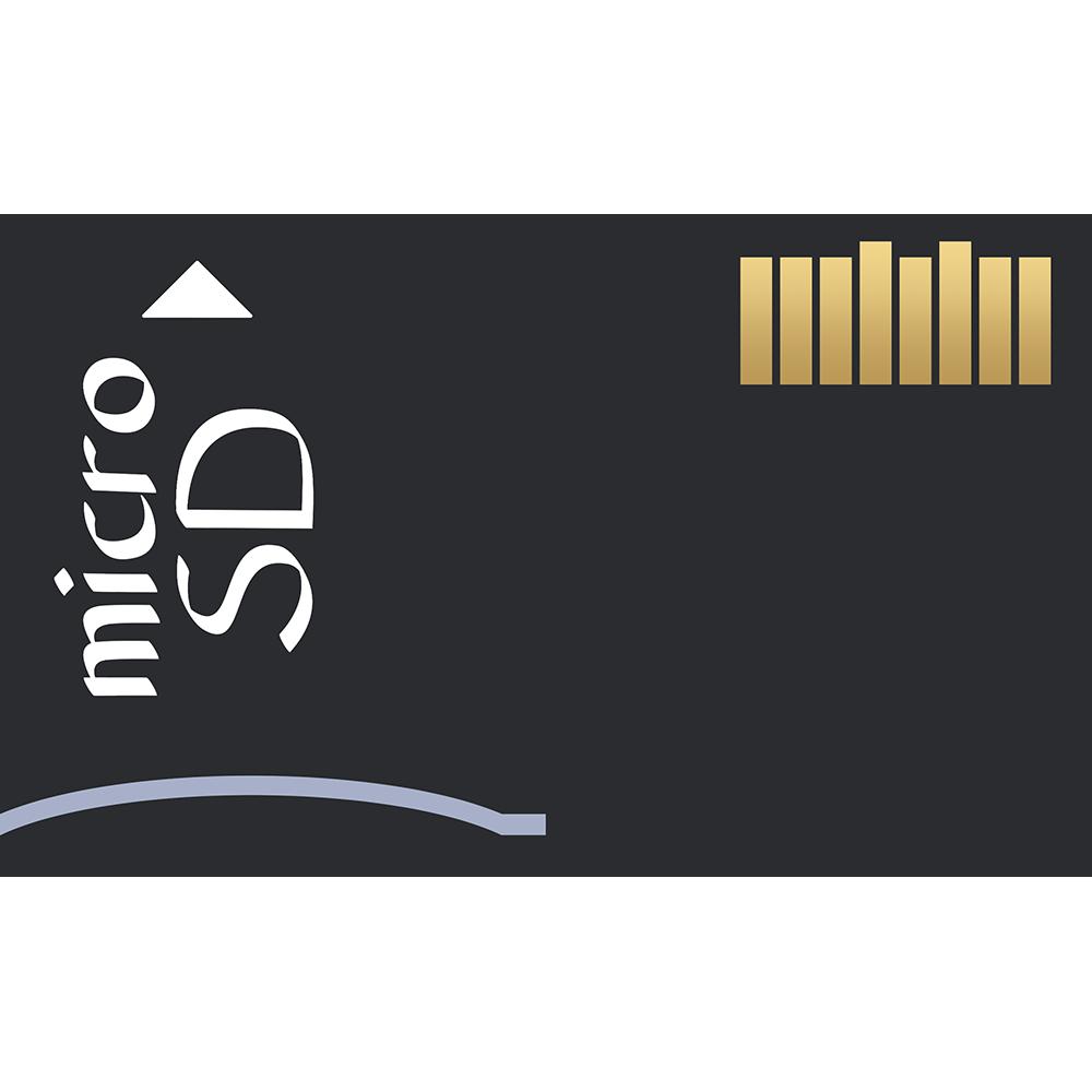 microSDカードの無料イラスト