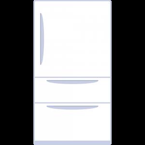 冷蔵庫のイラスト【無料・フリー】