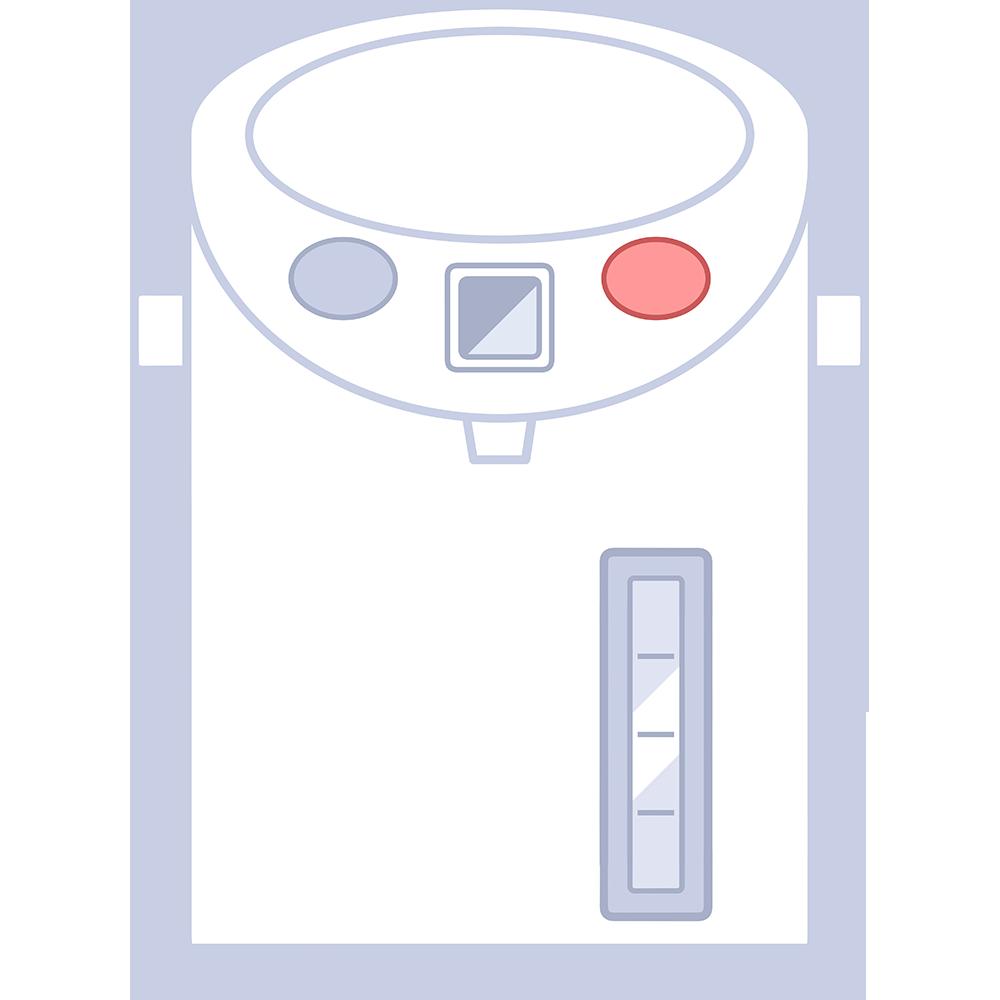 電気ポット【無料イラスト・フリー素材】