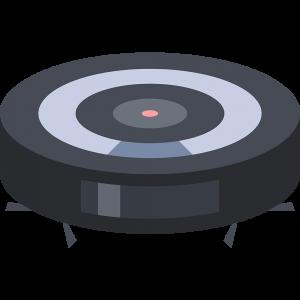 ロボット掃除機の無料イラスト