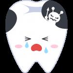 虫歯の無料イラスト