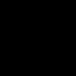 一輪の薔薇アイコンの無料イラスト