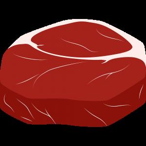 外国産のお肉の無料イラスト
