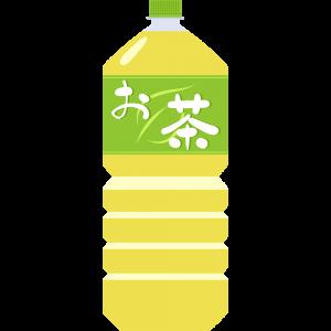 お茶(ペットボトル2L)の無料イラスト