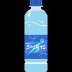 スポーツドリンクの無料イラスト