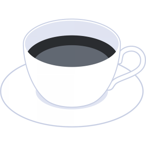 コーヒーの無料イラスト