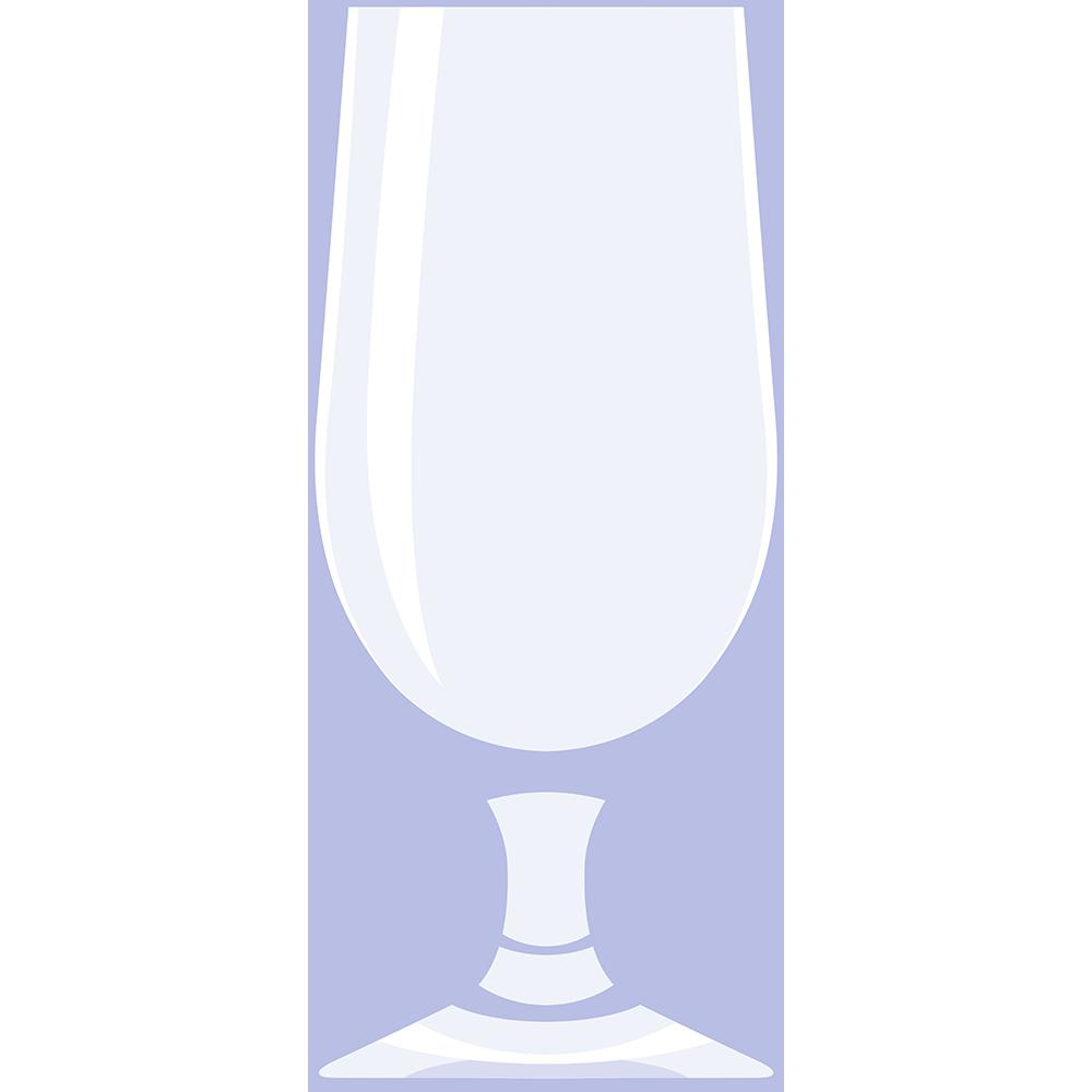 ビールグラス(2)の無料イラスト