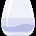 日本酒グラスの無料イラスト