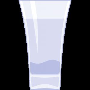 日本酒グラス(2)の無料イラスト