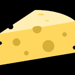 チーズの無料イラスト