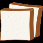 食パンの無料イラスト