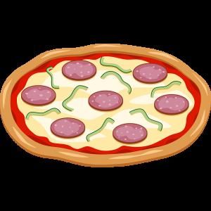 ピザの無料イラスト