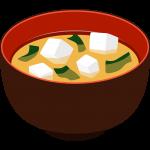 味噌汁の無料イラスト