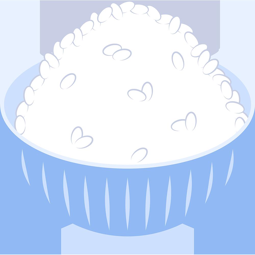 白いご飯の無料イラスト