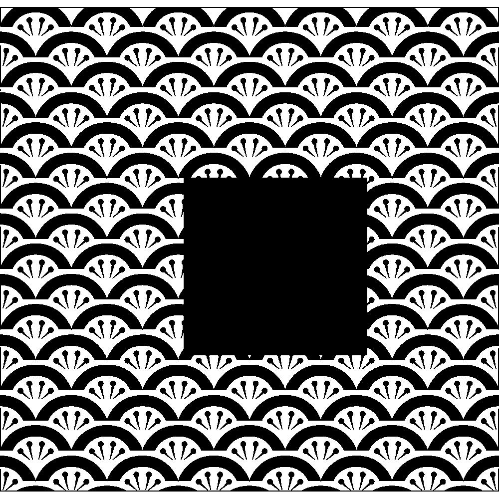 花青海波の無料イラスト