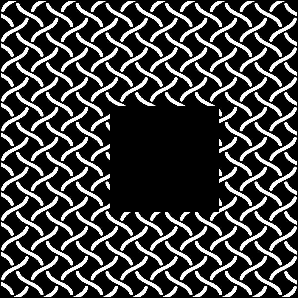 分銅繋ぎの無料イラスト