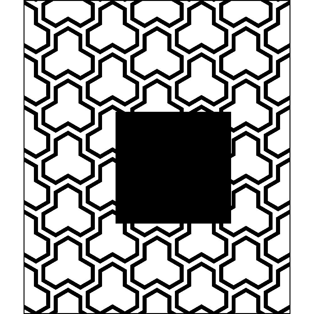 毘沙門亀甲の無料イラスト