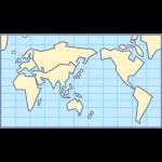 世界地図の無料イラスト