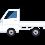 軽トラックの無料イラスト