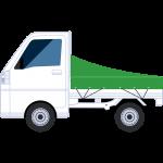 軽トラック(2)の無料イラスト