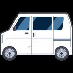 軽ワゴンの無料イラスト