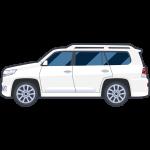 SUV車の無料イラスト