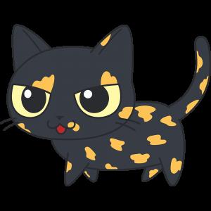 かわいいサビ猫