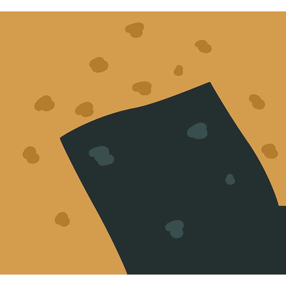 せんべい(煎餅)の無料イラスト
