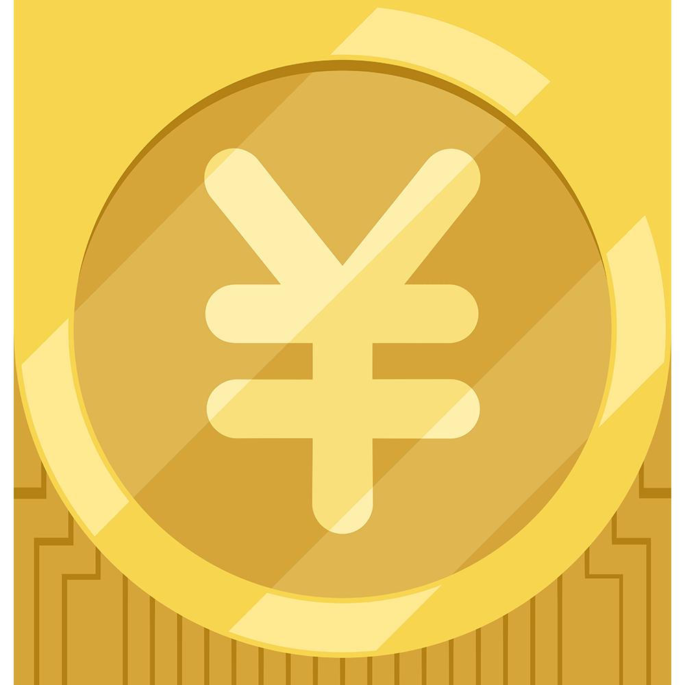 コイン・金貨の無料イラスト