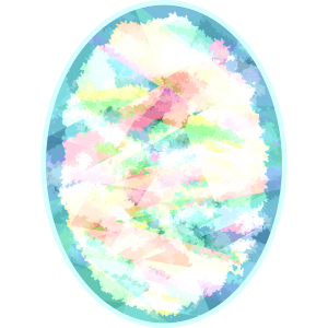 宝石オパールの無料イラスト