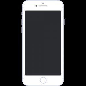 iPhoneの無料イラスト