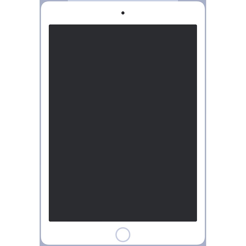 iPadタブレットの無料イラスト