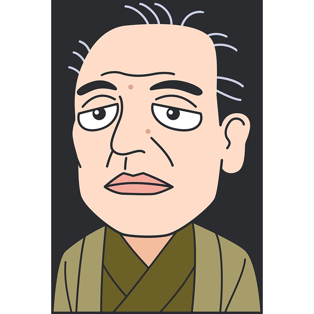 福沢諭吉の無料イラスト