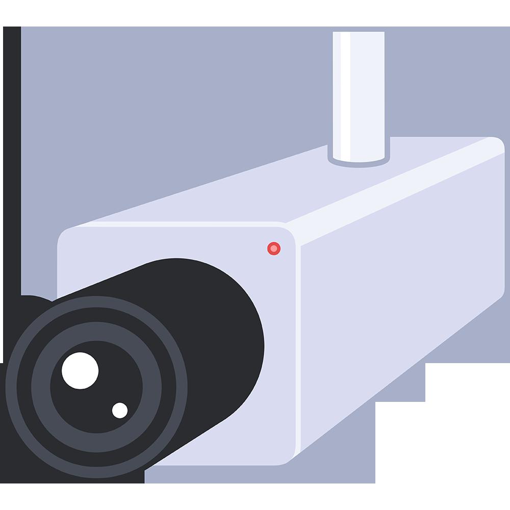 防犯カメラ 無料イラスト かわいいフリー素材集 ねこ画伯コハクちゃん