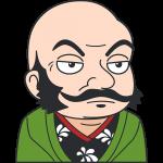 武田信玄の無料イラスト