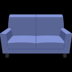 ソファーの無料イラスト