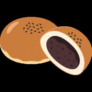 あんパン2の無料イラスト