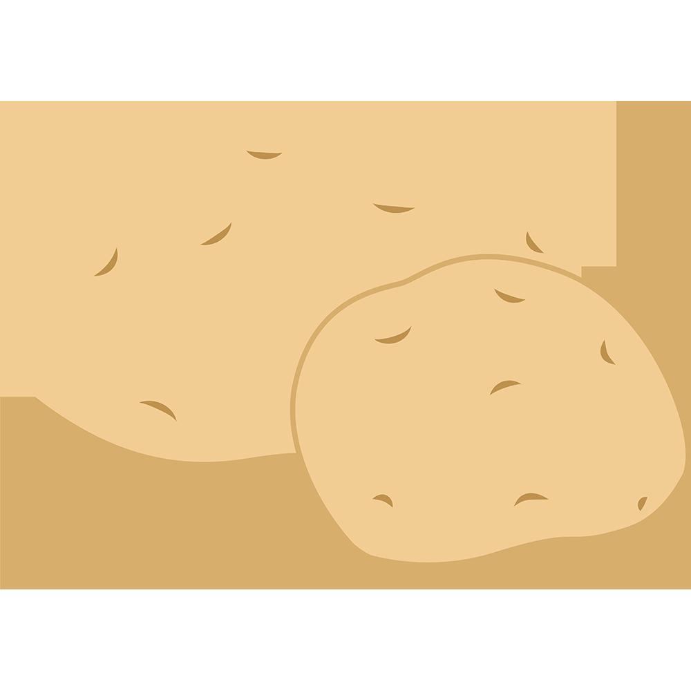 ジャガイモの無料イラスト