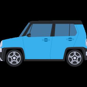 軽自動車SUVの無料イラスト