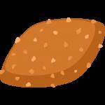 カレーパンの無料イラスト