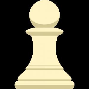 チェスの白駒(ポーン)